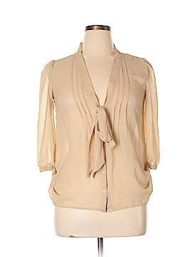 Decree 3/4 Sleeve Blouse Size L