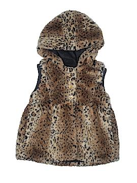 Juicy Couture Faux Fur Vest Size 10