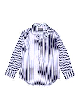 Thomas Dean Long Sleeve Button-Down Shirt Size 7