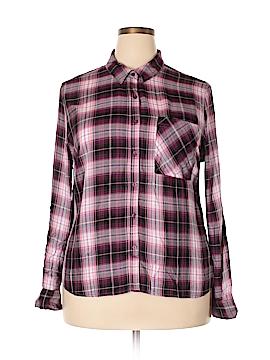 Como Vintage Long Sleeve Button-Down Shirt Size XXL