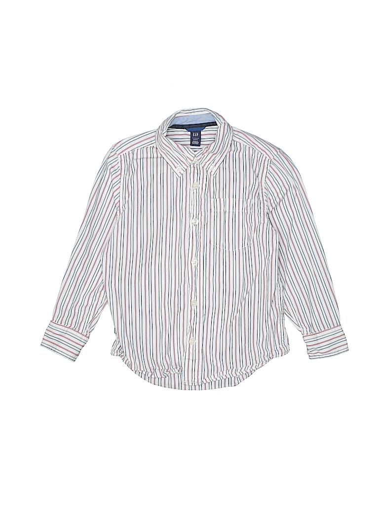 Baby Gap Boys Long Sleeve Button-Down Shirt Size 5