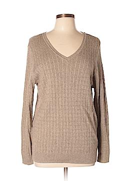 Karen Scott Women Pullover Sweater Size XL
