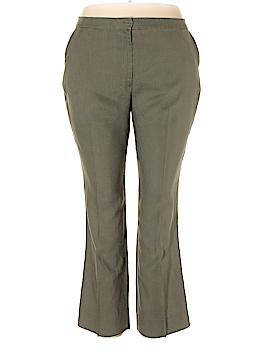 Preston & York Linen Pants Size 18 (Plus)
