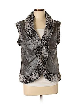 Joseph Ribkoff Faux Fur Vest Size 12