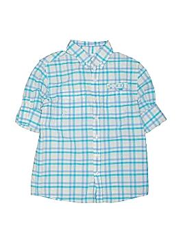 JK Kids Short Sleeve Button-Down Shirt Size M (Youth)