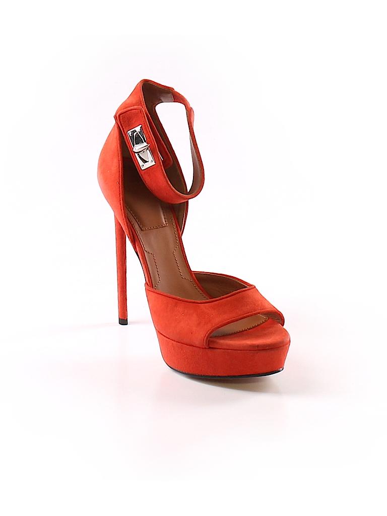 cb444fa01863 Givenchy 100% Suede Solid Orange Heels Size 37 (EU) - 86% off