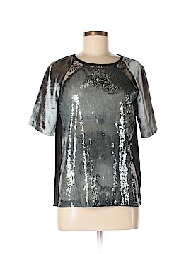 Schumacher Short Sleeve Silk Top Size Med (3)