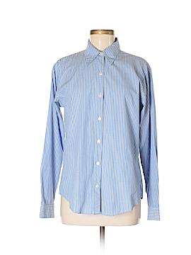 A LINE ANNE KLIEN Long Sleeve Button-Down Shirt Size M