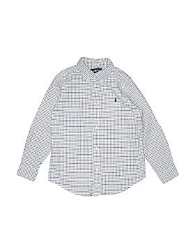 Ralph Lauren Long Sleeve Button-Down Shirt Size 7