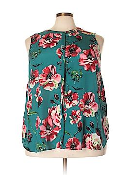 Lucky Brand Sleeveless Silk Top Size 3X (Plus)