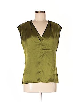 Classiques Entier Short Sleeve Silk Top Size M