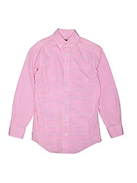 Classic Club Long Sleeve Button-Down Shirt Size 10