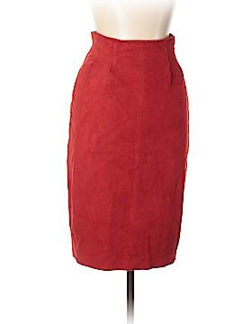 Cathy Hardwick Leather Skirt Size 8