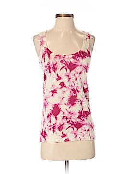 Velvet Sleeveless Silk Top Size S
