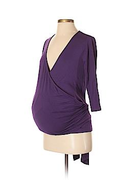 JoJo Maman Bebe 3/4 Sleeve Top Size XS (Maternity)