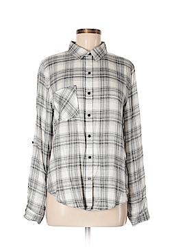 En Creme Long Sleeve Button-Down Shirt Size M