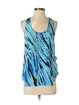 Aqua Sleeveless Blouse Size XS