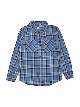 Tea Long Sleeve Button-Down Shirt Size 10
