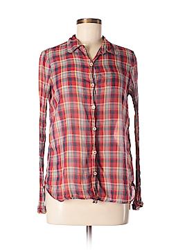 Paper Boy Long Sleeve Button-Down Shirt Size M