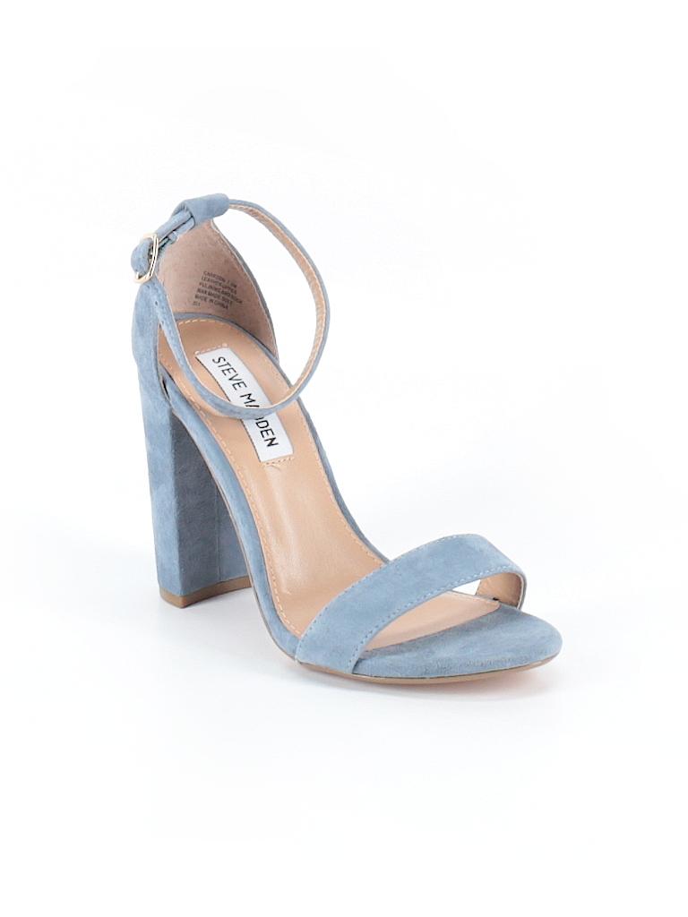 c4c2a82fbe703 Steve Madden Solid Light Blue Heels Size 7 1/2 - 69% off | thredUP