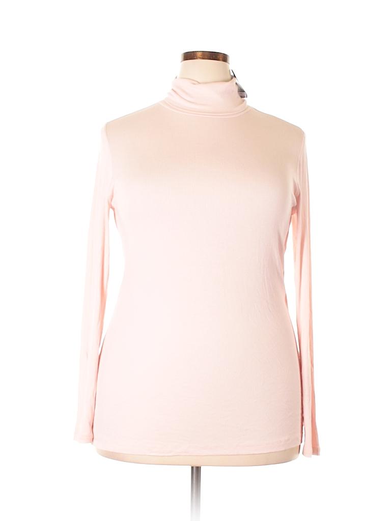 Lauren by Ralph Lauren Women Long Sleeve Turtleneck Size 1X (Plus)