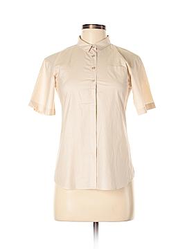 Jil Sander Short Sleeve Button-Down Shirt Size 34