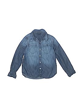 Gap Kids Long Sleeve Button-Down Shirt Size S (Kids)