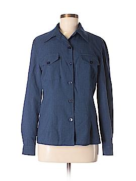 Kathie Lee Long Sleeve Blouse Size 8