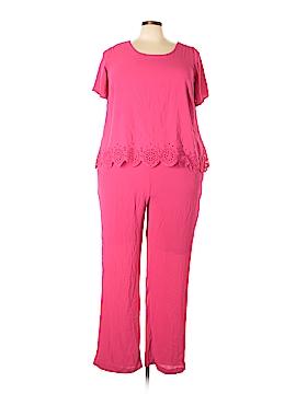 NY Collection Jumpsuit Size 2X (Plus)