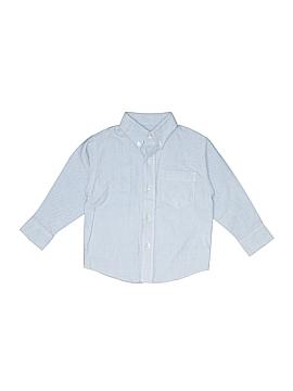 Arrow Long Sleeve Button-Down Shirt Size 4