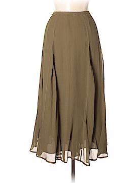 Kate Hill Silk Skirt Size 2 (Petite)