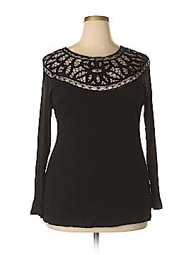 Jessica Simpson Long Sleeve Top Size 1X (Plus)