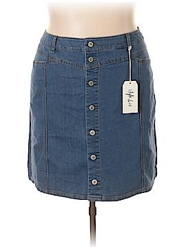 Style&Co Denim Skirt Size 20W (Plus)