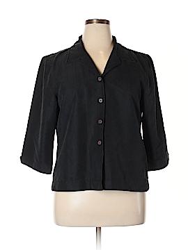 Caribbean Joe 3/4 Sleeve Button-Down Shirt Size XL