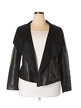 Bagatelle Faux Leather Jacket Size 2X (Plus)