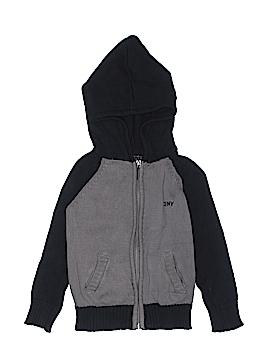 DKNY Zip Up Hoodie Size 4T