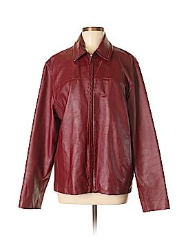 Nicole Miller New York City Leather Jacket Size S