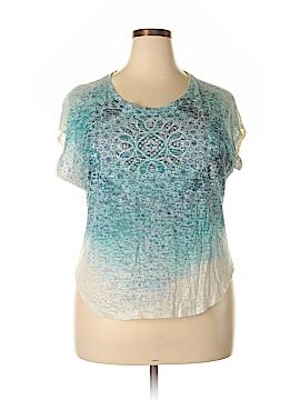 Daisy Fuentes Short Sleeve Top Size XL (Plus)