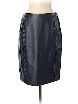 Dana Buchman Leather Skirt Size 6