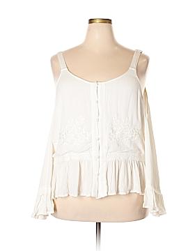 Jessica Long Sleeve Blouse Size 1X (Plus)
