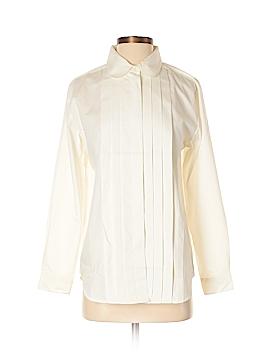Appleseeds Long Sleeve Button-Down Shirt Size S