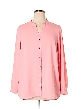 Alfani Long Sleeve Blouse Size 14W