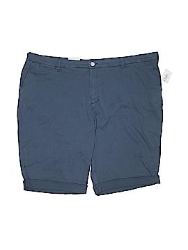 Style&Co Khaki Shorts Size 24W (Plus)