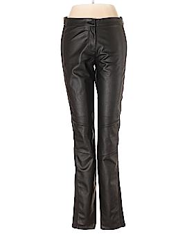 H&M Faux Leather Pants Size 8
