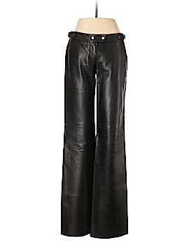 H Hilfiger Leather Pants Size 4