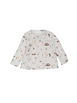 Angel Dear Long Sleeve Button-Down Shirt Size 3-6 mo