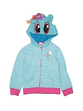 My Little Pony Zip Up Hoodie Size 4 - 5