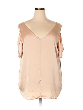 RACHEL Rachel Roy 3/4 Sleeve Blouse Size 2X (Plus)