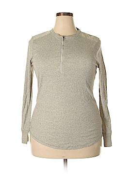 Ralph Lauren Long Sleeve Henley Size 1X (Plus)