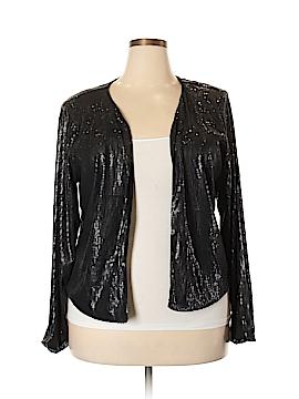 City Chic Faux Fur Vest Size 22 Plus (L) (Plus)